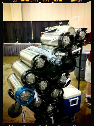 kegs at NHC